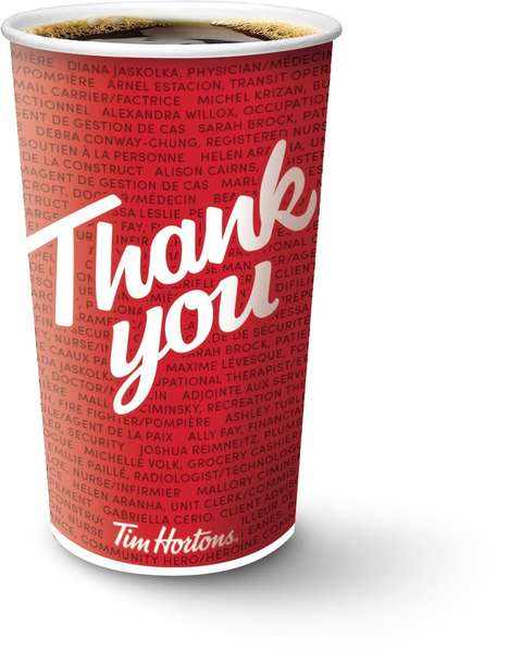 Thankful Coffee Cups