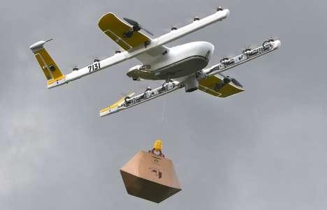 Drone Book Deliveries