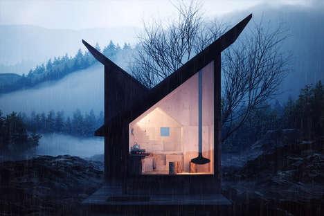 Prefab Wilderness Cabins