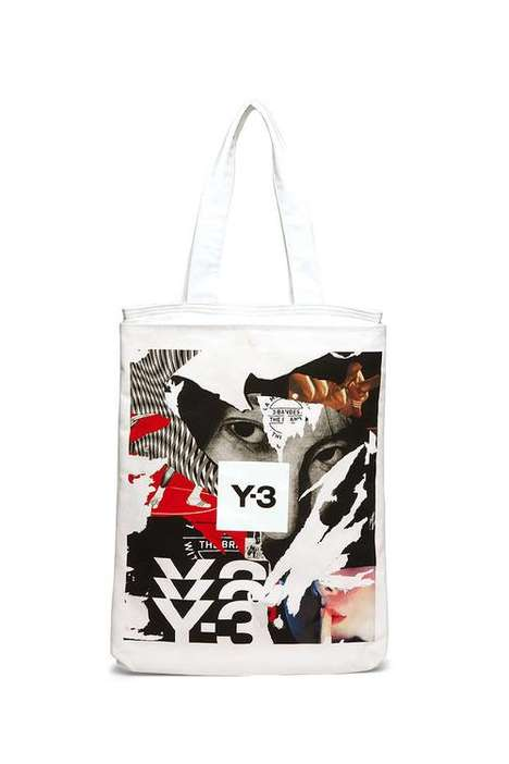 Luxe Graphic Tote Bags
