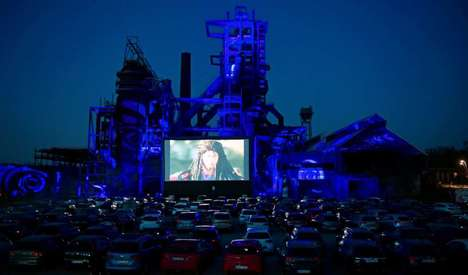 Scenic Drive-In Cinema Experiences