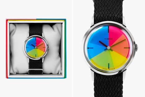 Supportive Pride-Celebrating Timepieces