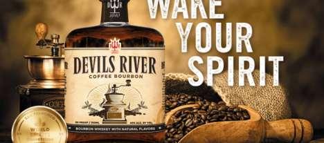 Smokey Coffee-Infused Bourbons