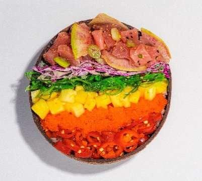 Pride-Themed Poké Bowls
