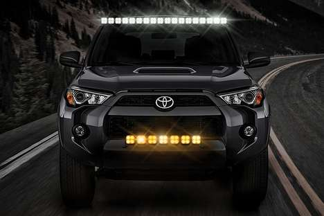 Customizable Off-Road Vehicle Lights