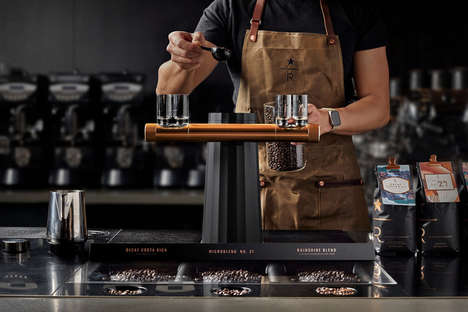 Open-Concept Cafe Equipment