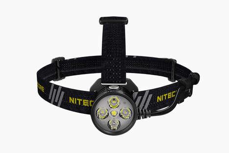 Ultra-Bright Remote Headlamps