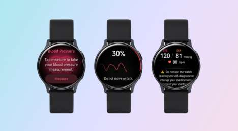 Blood Pressure-Tracking Watches