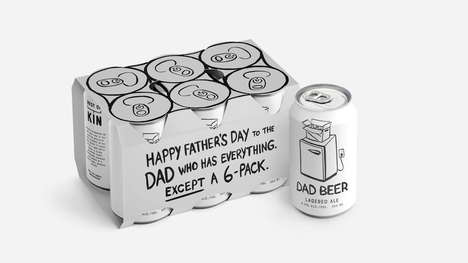 Outlined Beer Packs