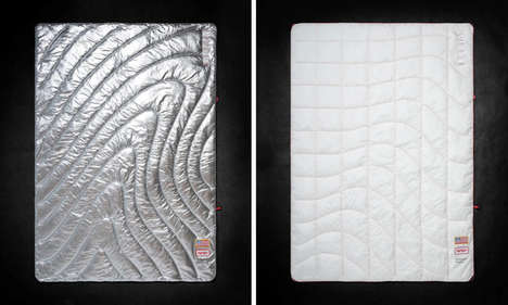 Space Age-Inspired Blankets