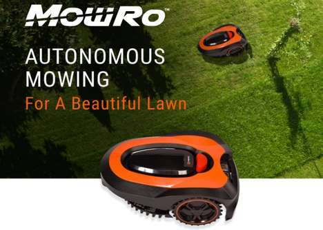 Automated Robotic Lawnmowers
