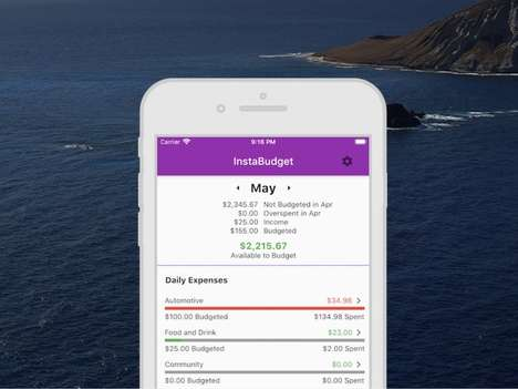 Savings Goal Finance App