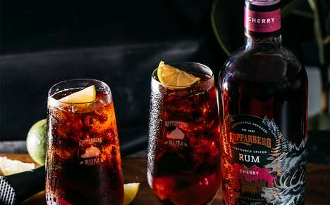Cherry-Infused Spiced Rums