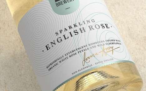 Champagne-Inspired Kombuchas