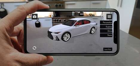 AR Car-Displaying Apps