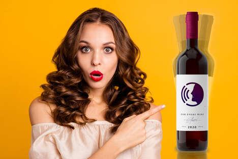 Talking Wine Bottles