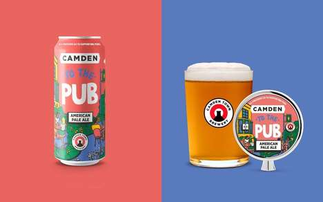 Pub-Supporting British Beers