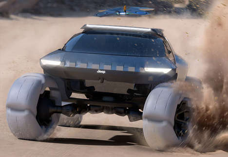 Drone-Equipped Adventure Vehicles