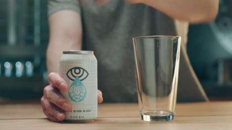 Empty Craft Beer Cans