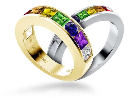 Commemorative Pride Rings