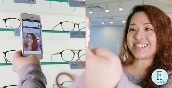 In-Store Virtual Eyewear Try-Ons