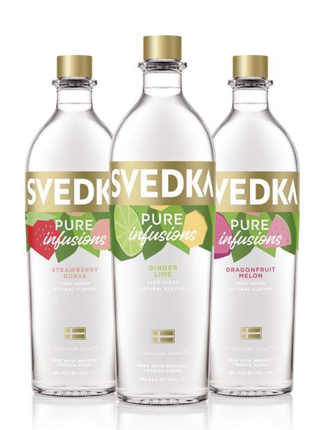 Zero-Sugar Infused Vodkas
