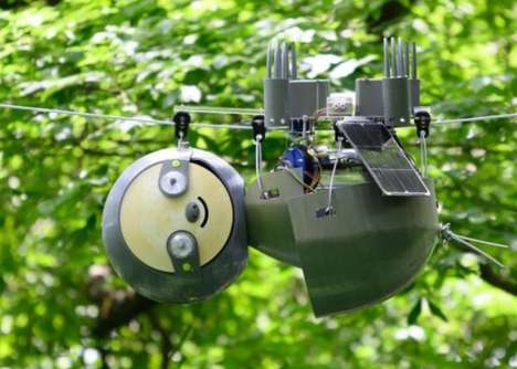 Sloth-Like Conservation Robots