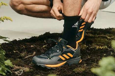 Trail-Inspired Retro Sneakers