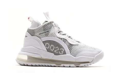 Crisp Heavily Textured Sneakers