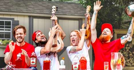 Ketchup-Themed Anthem Renditions