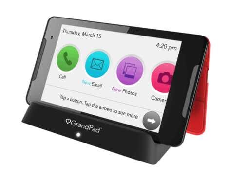 Senior-Focused Tablet Designs