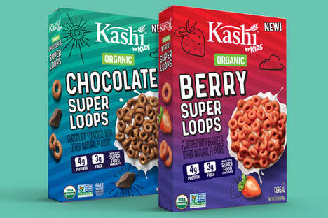 Kid-Created Superfood Cereals