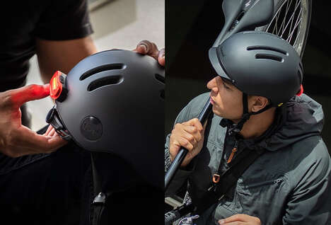 Protective Retro Cyclist Helmets