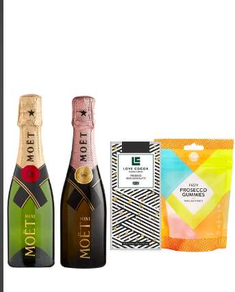 Delivered Champagne Sets