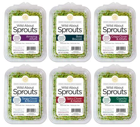 Nutritious Full-Flavor Sprouts