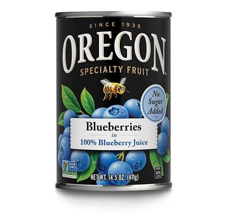 Unsweetened Canned Blueberries
