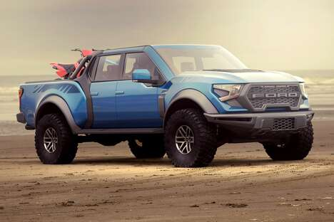 Blockish Conceptual Pickup Trucks