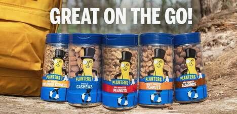 Snap-Top Nut Packaging