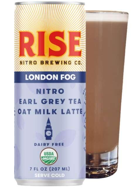 Nitro-Infused Tea Lattes