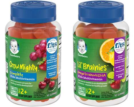 Kid-Targeted Gummy Vitamins