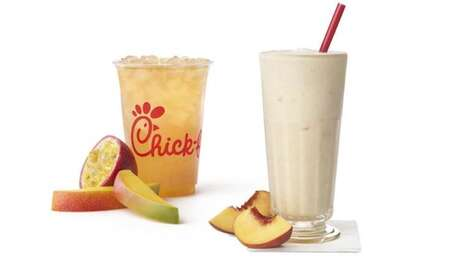 Tropical Mango Iced Teas - Chick-fil-A is Offering a New Mango Passion Tea Lemonade This Summer