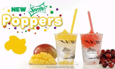 Popping Boba Sodas - Del Taco's New Sprite Poppers are Made with Flavored Popping Boba Pearls