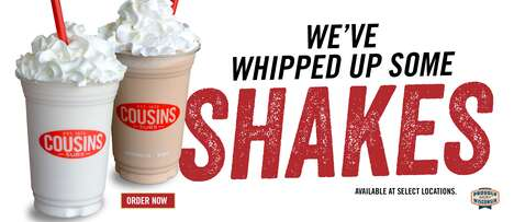 Made-to-Order Gelato Shakes - Cousins Subs is Serving Up New Made-to-Order Shakes and Floats
