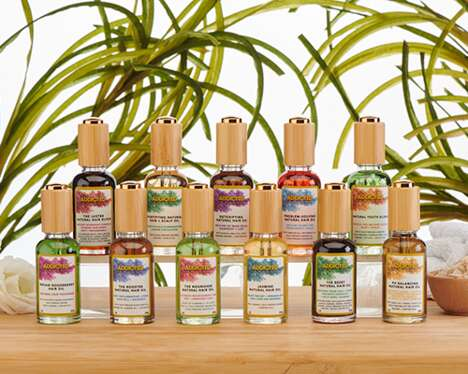Food-Grade Hair Oils