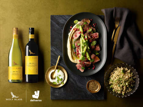 Meal Delivery Wine Samples
