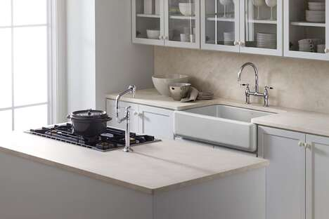 Enameled Cast-Iron Farmhouse Sinks