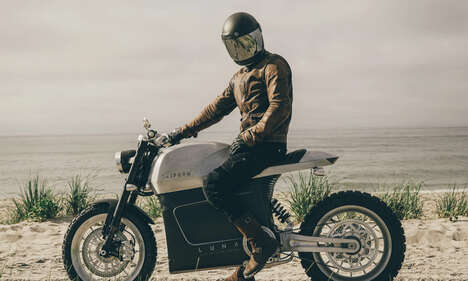 Vintage-Inspired Electric Motorcycles