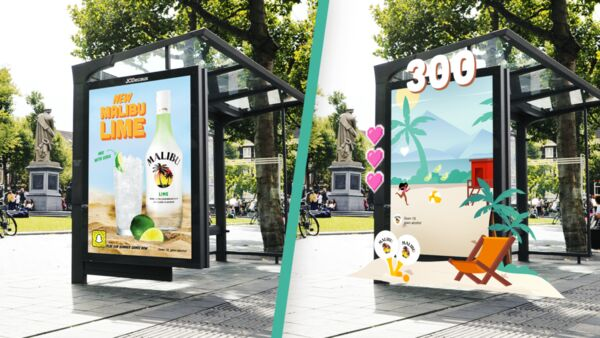 Gamified Bus Stop Billboards