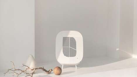 Mountable Minimalist Air Purifiers