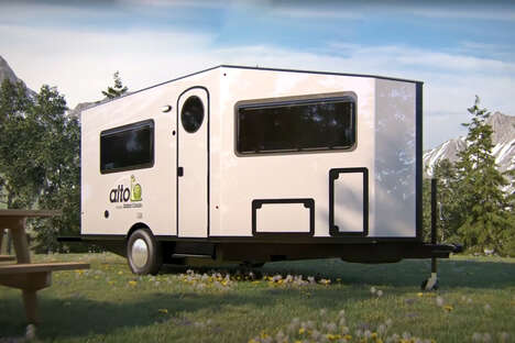 Aerodynamic Trailer Tiny Homes